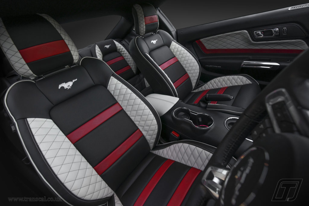 Ford Mustang bespoke leather interior