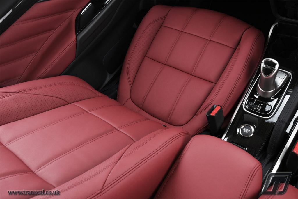 Mitsubishi L200 leather interiors