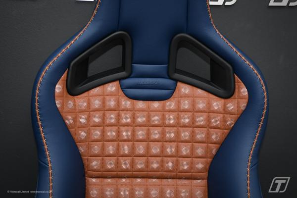Land Rover Defender 90 bespoke leather interior