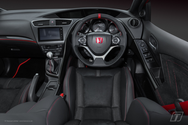 Honda Civic Type R bespoke leather/alston interior