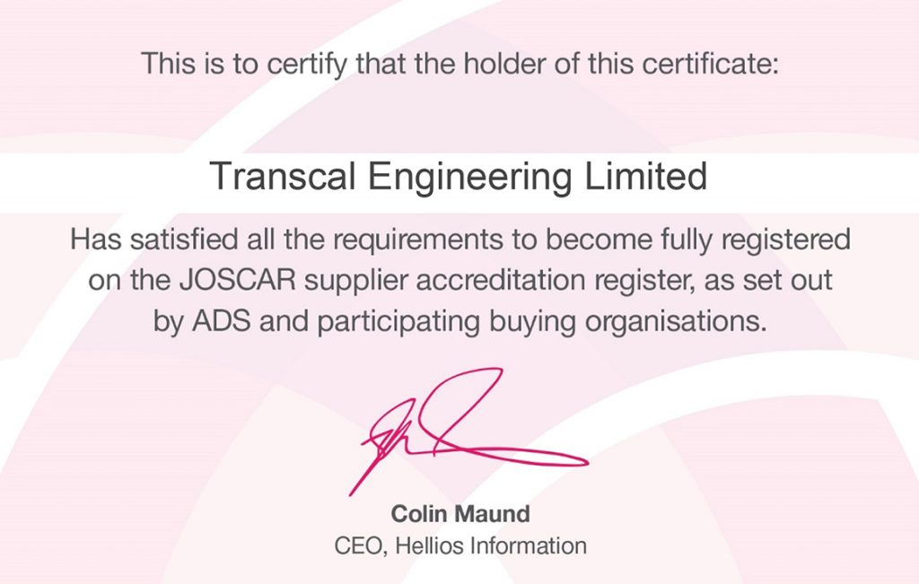 Transcal Engineering Limited